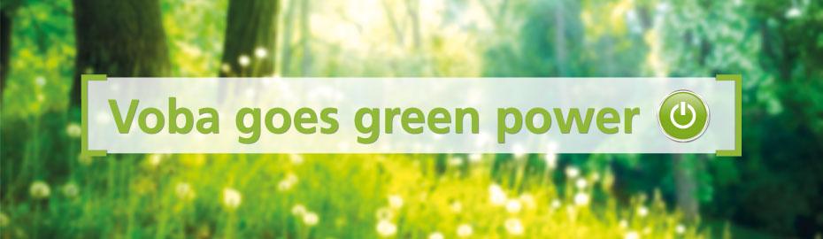 """Voba-WunschKredit """"green power"""""""